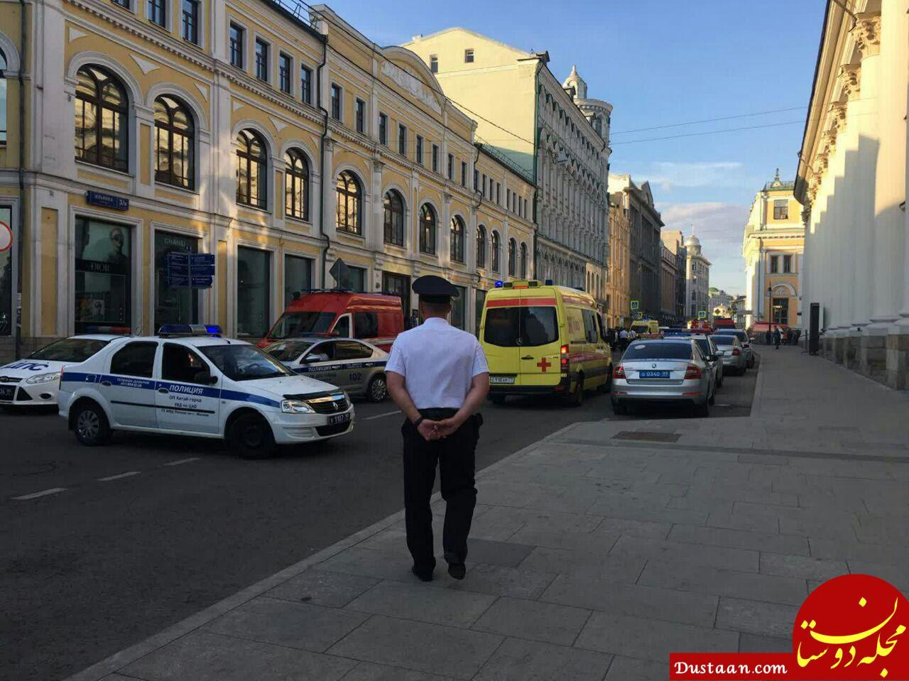 www.dustaan.com تصادف تاکسی در مسکو تروریستی نبود
