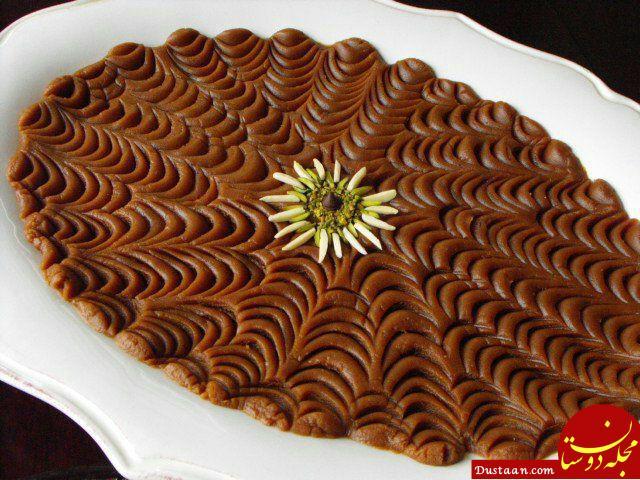 www.dustaan.com طرز تهیه حلوا خرما به سبکی خوشمزه و متفاوت