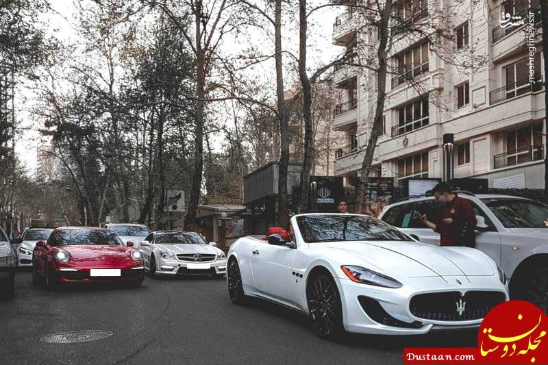 www.dustaan.com زندگی لاکچری بچه پولدارهای خیابان فرشته تهران! +عکس