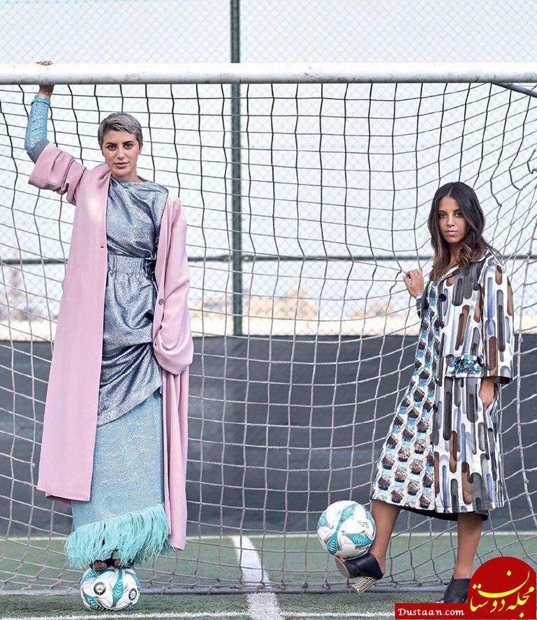 www.dustaan.com «سجا کمال» اولین فوتبالیست زن در عربستان! +عکس
