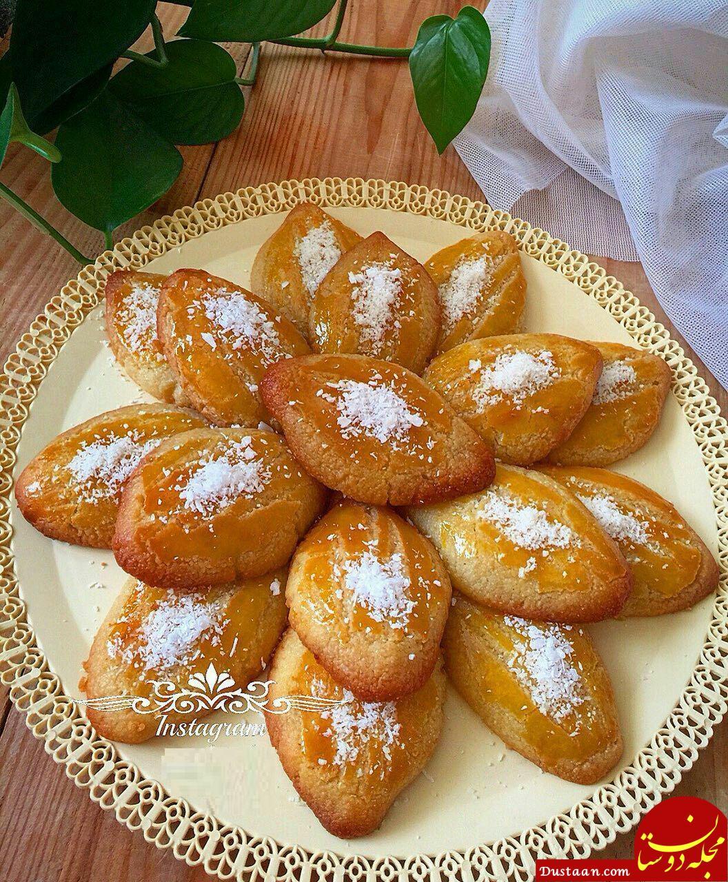 www.dustaan.com طرز تهیه شیرینی شکر پاره به سبکی خوشمزه و متفاوت