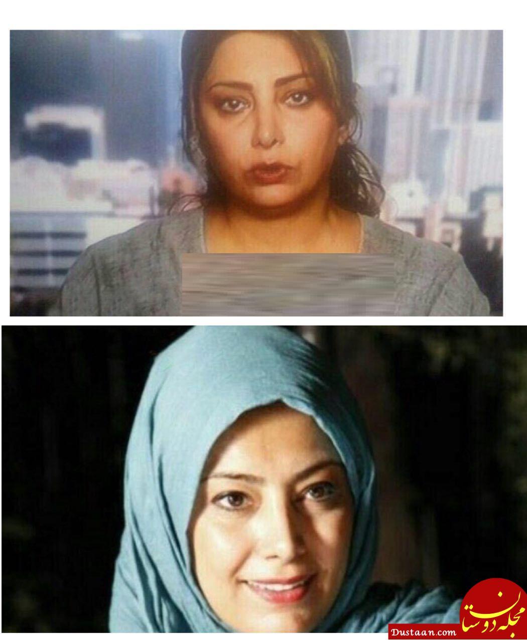 www.dustaan.com کشف حجاب لادن طباطبایی در خارج از کشور +عکس