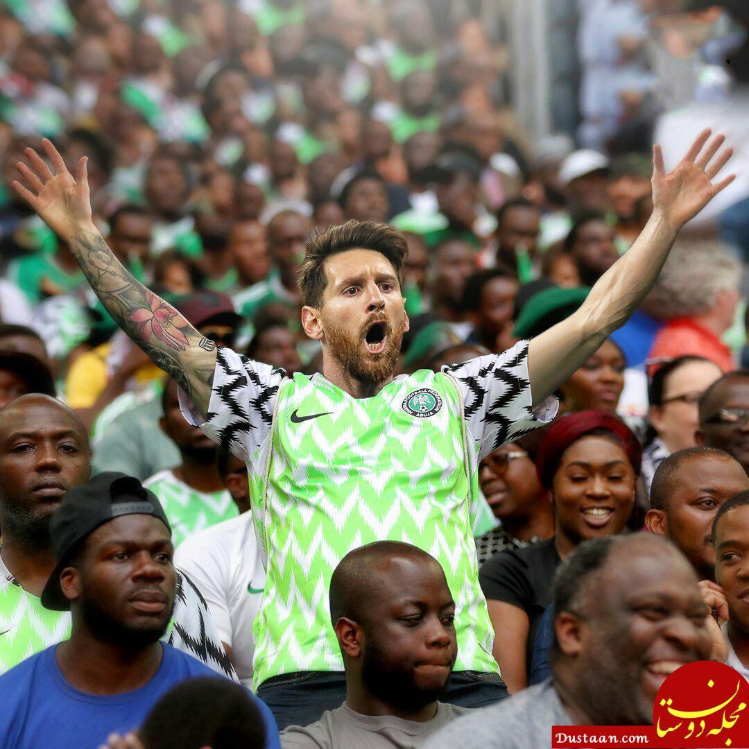 www.dustaan.com وضعیت لیونل مسی در بازی امروز ایسلند و نیجریه!