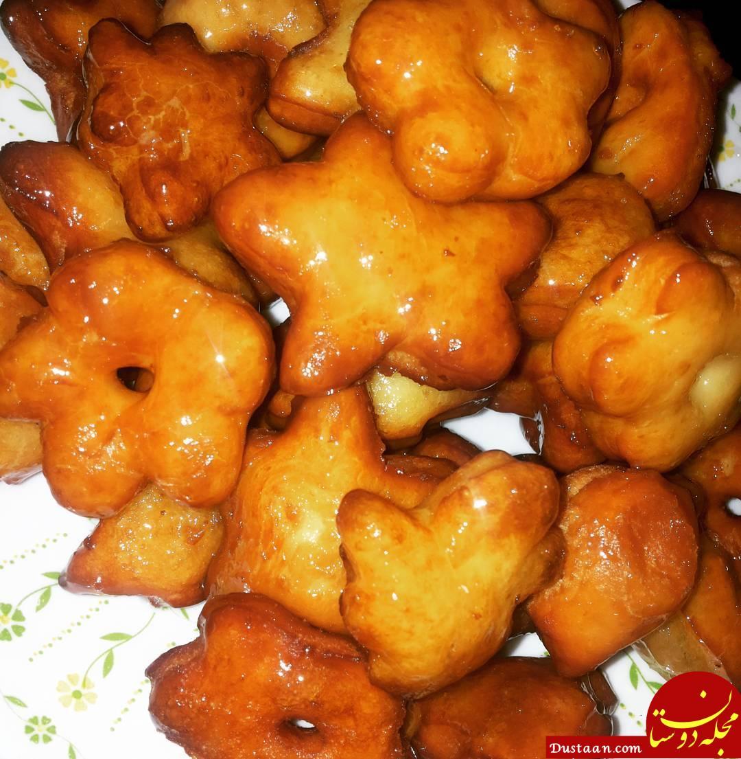 www.dustaan.com طرز تهیه شیرینی جبنیه /خوشمزه و متفاوت!