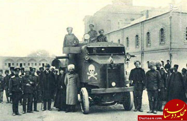 www.dustaan.com زرهپوش جنگی در خیابانهای پایتخت! /عکس