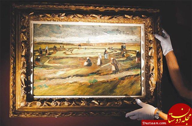 www.dustaan.com فروش ۸ میلیون دلاری نقاشی «ونگوگ»
