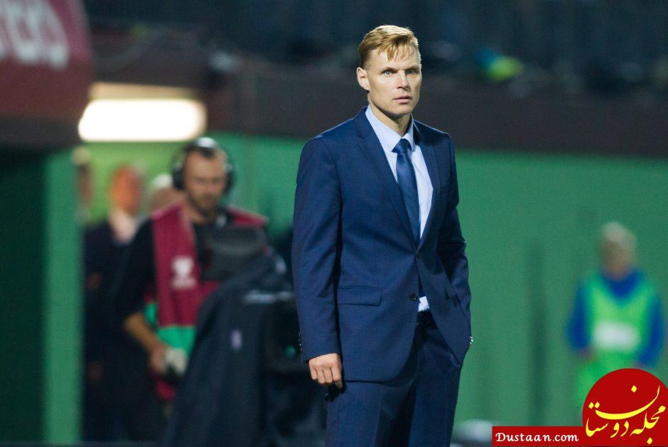 www.dustaan.com مربی لیتوانی: ایرانی ها خواستند بازی بدون تماشاگر باشد