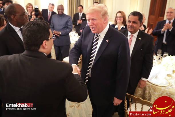 www.dustaan.com مراسم افطاری دونالد ترامپ برای مسلمانان در کاخ سفید +تصاویر