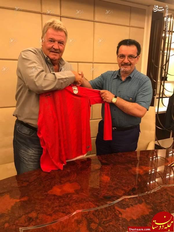 www.dustaan.com سرمربی اسبق رئال مادرید به تراکتورسازی تبریز پیوست +عکس