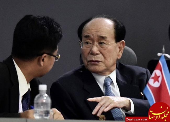 www.dustaan.com حضور مرد شماره 2 کره شمالی در آیین گشایش جام جهانی فوتبال