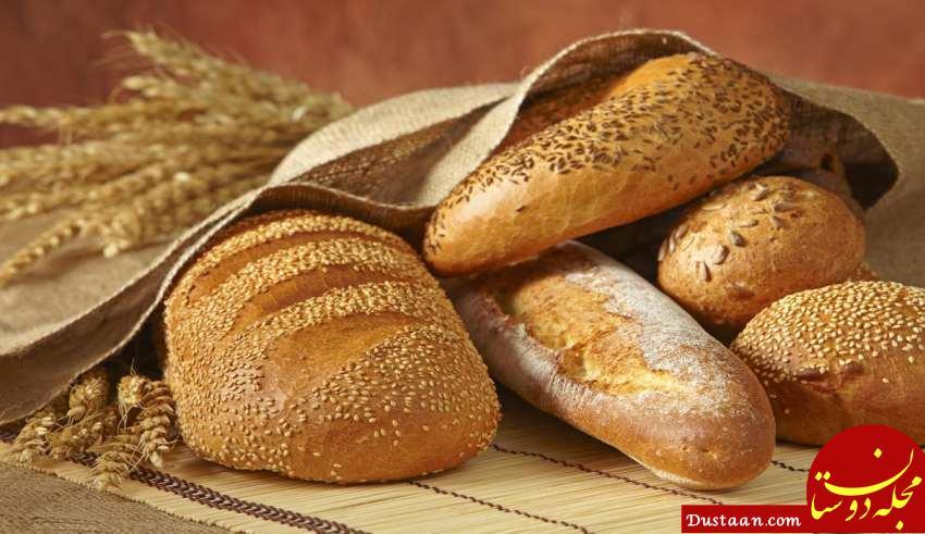 www.dustaan.com آلودگی به نان های مصرفی هم رسید؟