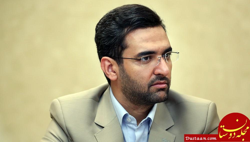 www.dustaan.com آذری جهرمی: دولت یک ریال برای پیام رسان تلگرام هزینه نکرده است