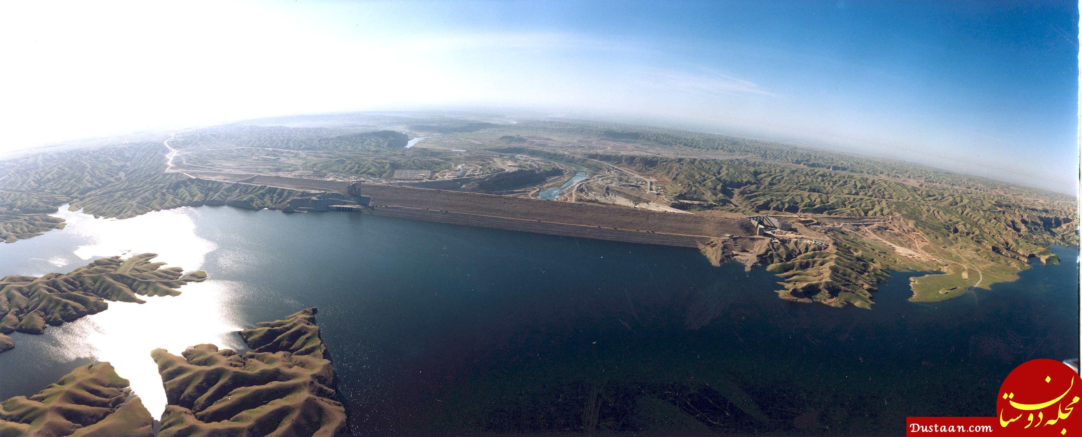 www.dustaan.com آب رودخانه کرخه نصف شده است