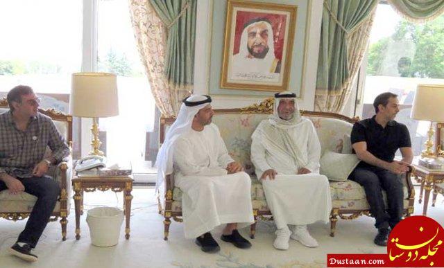 www.dustaan.com اولین حضور علنی حاکم امارات از پنج ماه قبل +عکس