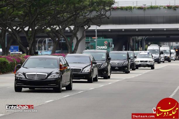 www.dustaan.com ورود رهبر کره شمالی به سنگاپور +تصاویر
