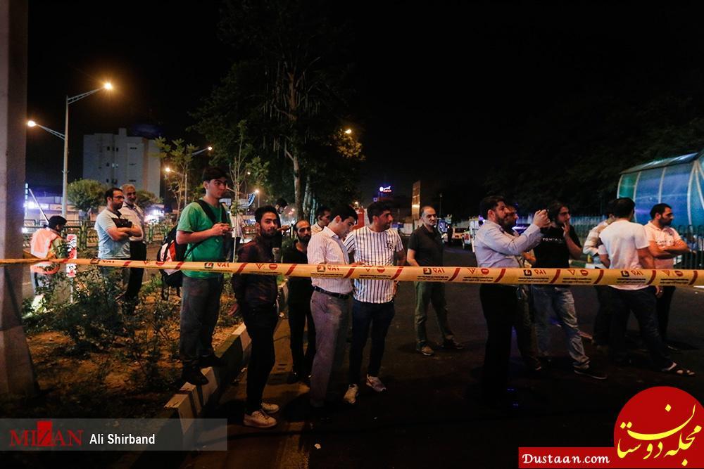 اخبار اجتماعی ,خبرهای اجتماعی,نشست زمین در خیابان آزادی