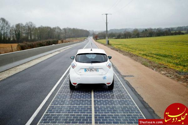 www.dustaan.com توکیو در آستانه المپیک ۲۰۲۰ جاده های خورشیدی می سازد