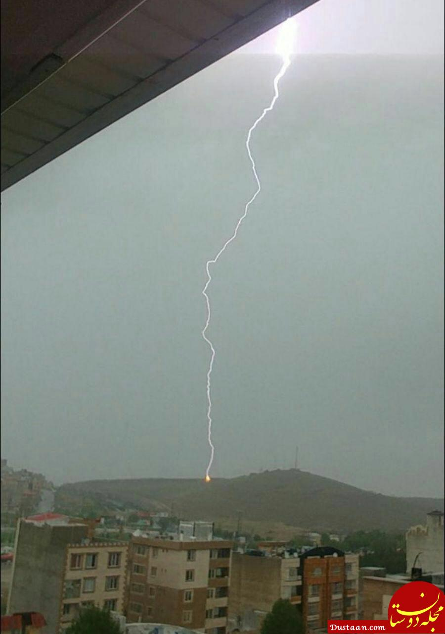 www.dustaan.com یک کشته و 4 مصدوم به دلیل رعد و برق