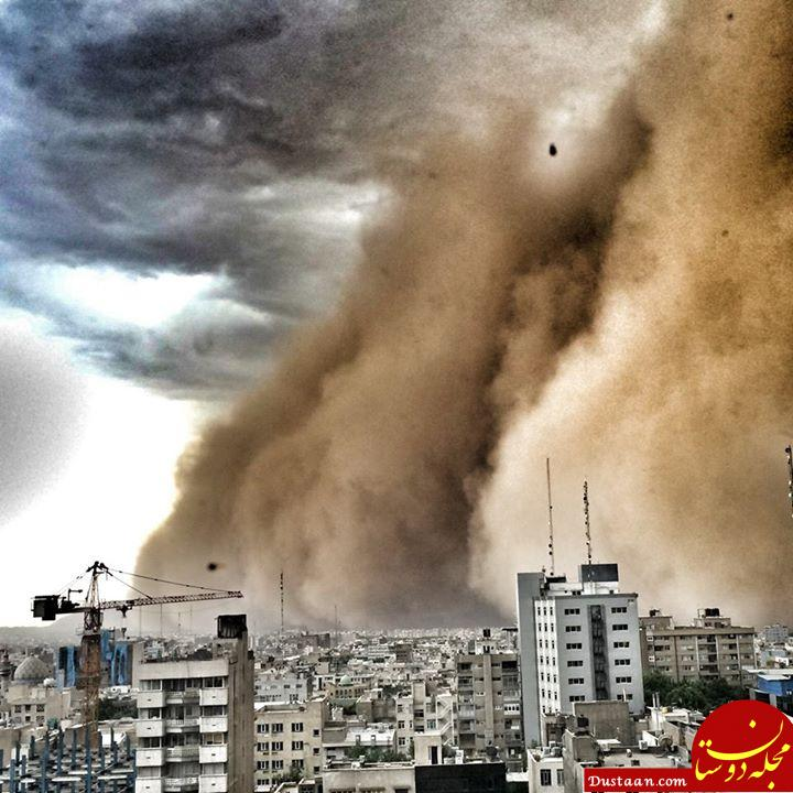 www.dustaan.com طوفان در تهران 18 نفر را مصدوم کرد