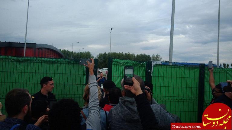 www.dustaan.com پرحاشیه ترین تمرین جام جهانی با حضور مسی و دوستان +تصاویر