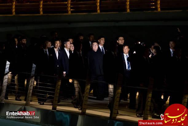www.dustaan.com شبگردی رهبر کره شمالی در سنگاپور +تصاویر