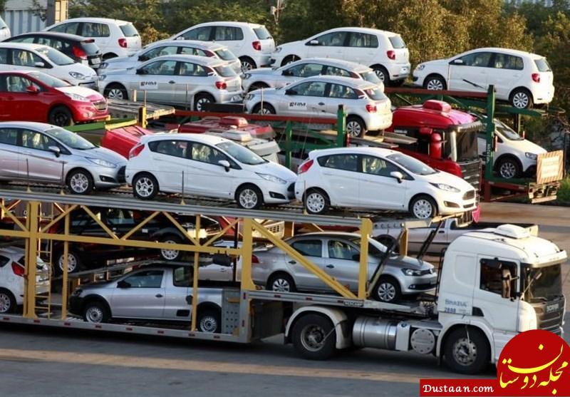 www.dustaan.com اگر افزایش قیمت خودرو به دلیل کاهش تولید باشد، شورای رقابت برخورد می کند