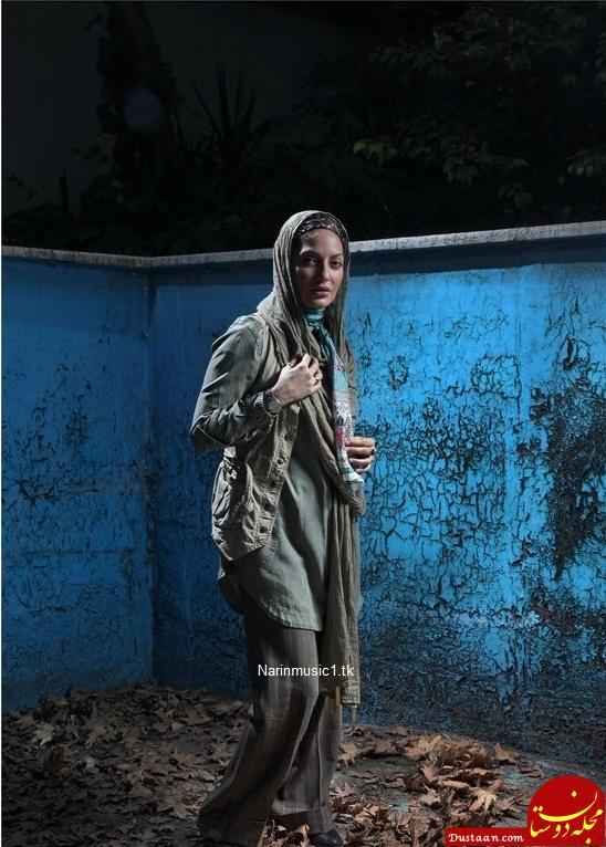 www.dustaan.com مهناز افشار و استخر خانه اش + عکس