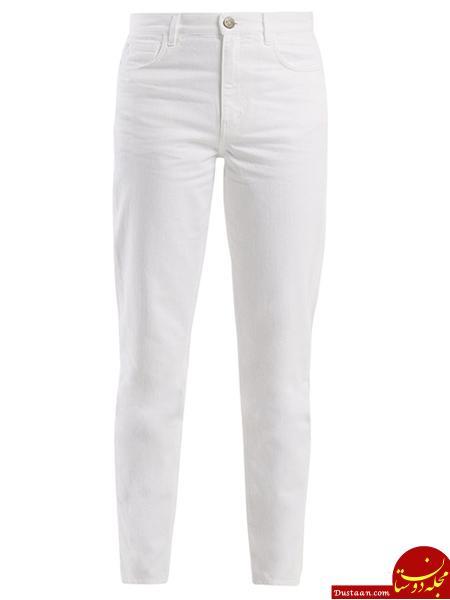 www.dustaan.com مدل های شلوارجین سفید برای تابستان