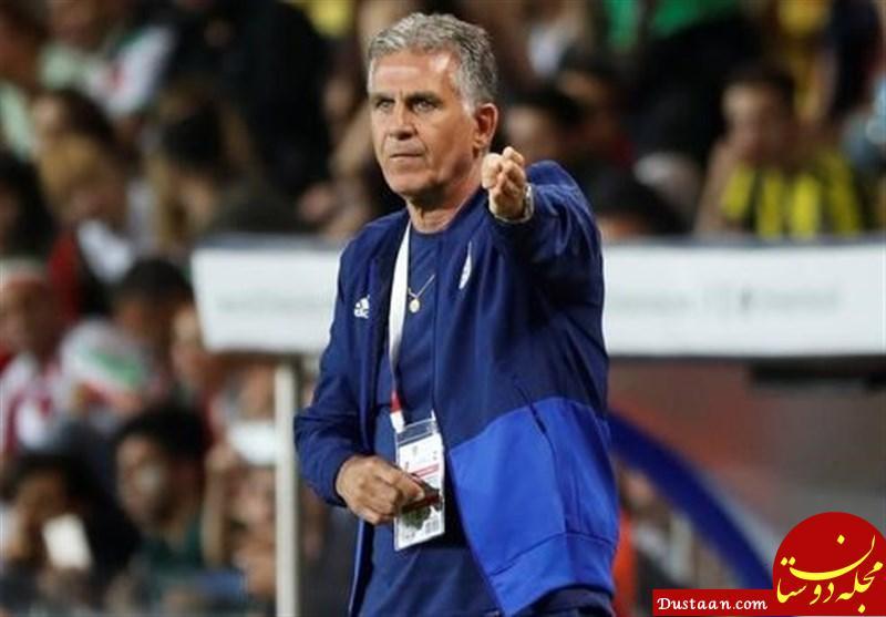 www.dustaan.com کی روش : دشواری های کار در ایران مرا بیش تر عاشق تیم ملی کرد