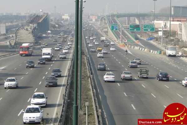 www.dustaan.com پنجشنبه 24 خرداد / آخرین وضعیت ترافیکی جاده های کشور