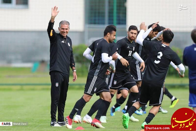 www.dustaan.com کی روش : کاملا آماده بازی با مراکش هستیم