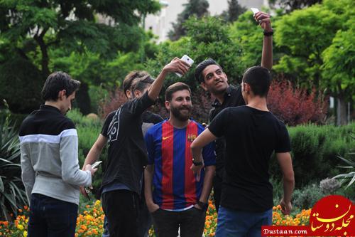 www.dustaan.com واکنش رضا پرستش بدل ایرانی مسی به شایعه بازداشتش در روسیه