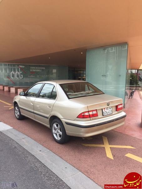 www.dustaan.com خودروی ساخت ایران در خیابان های ژنو سوئیس! +تصاویر