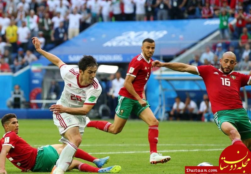 www.dustaan.com پیروزی شیرین ایران مقابل مراکش به روایت تصویر