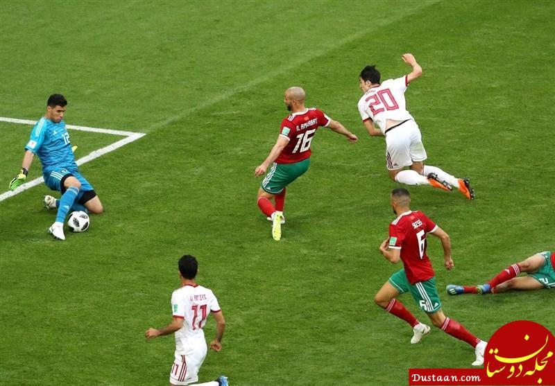 www.dustaan.com سایت AFC: ایران برای شکست مراکش شجاعت به خرج داد