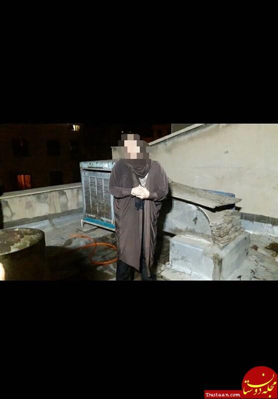 www.dustaan.com آتش زدن جسد شوهر روی پشت بام خانه +عکس