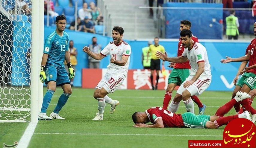 www.dustaan.com پیش بینی سایت انگلیسی Real Sport  از دیدار تیم ملی فوتبال ایران و اسپانیا
