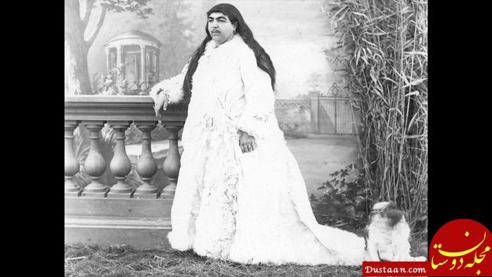 www.dustaan.com واکنش ناصر الدین شاه به سبیل های دخترش چه بود؟! +عکس