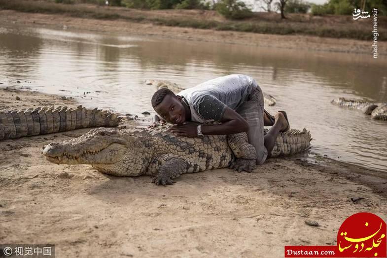 www.dustaan.com سرگرمی دلهره آور جوانان در غنا +تصاویر