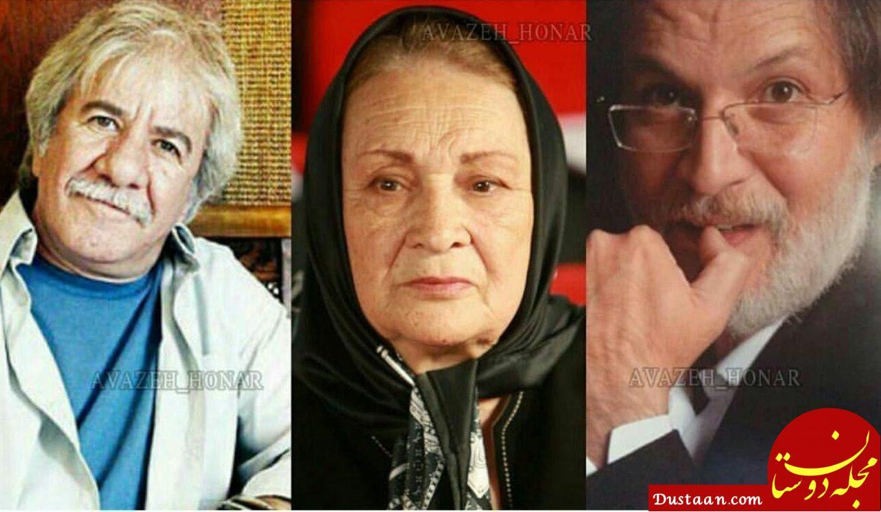www.dustaan.com مادر زن و دامادهای بازیگر! +عکس