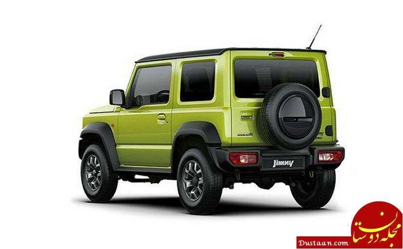 www.dustaan.com اولین تصاویر از خودروی آفرودی 2019 سوزوکی