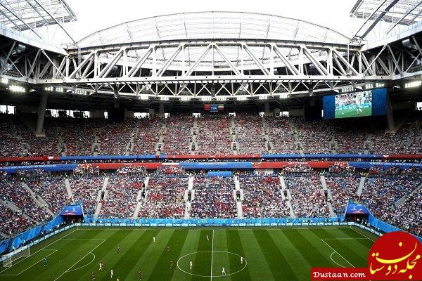 www.dustaan.com آغاز تماشای خانوادگی جام جهانی در آزادی با بازی ایران و اسپانیا