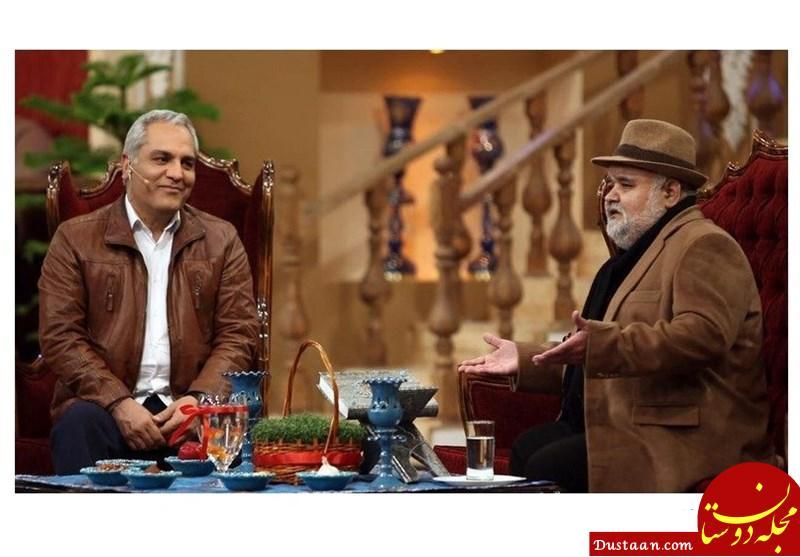 www.dustaan.com اختلاف مهران مدیری و رامبد جوان با اکبر عبدی!