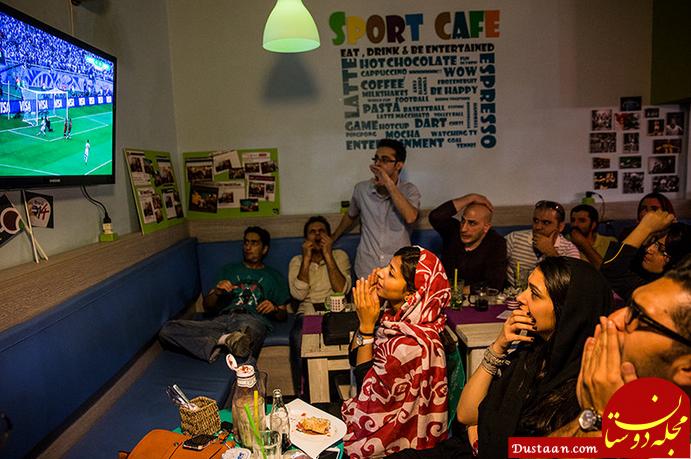 www.dustaan.com ممنوعیت تماشای مسابقه ایران   اسپانیا در کافی شاپ های مشهد