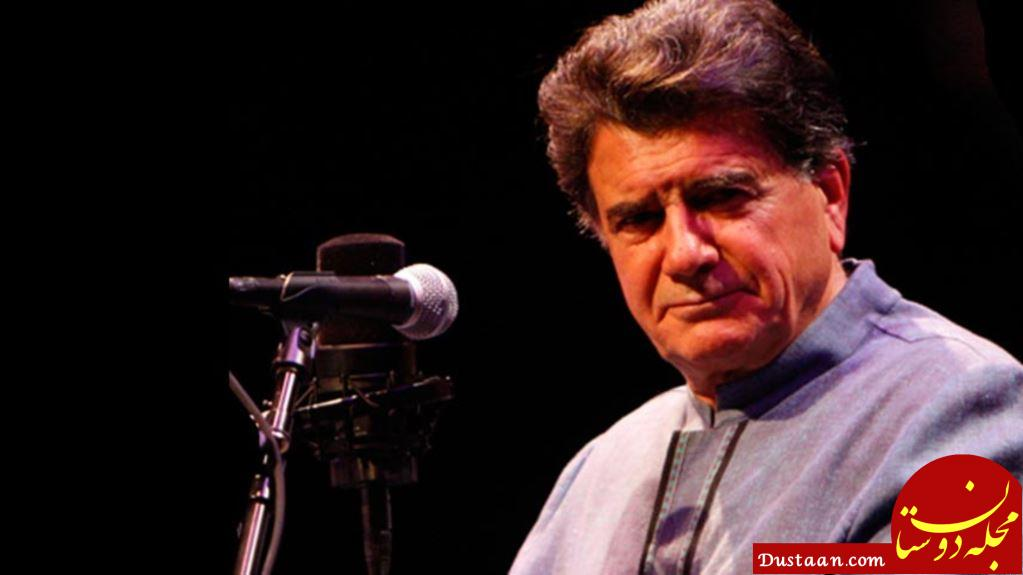 www.dustaan.com استاد محمدرضا شجریان در سلامت است