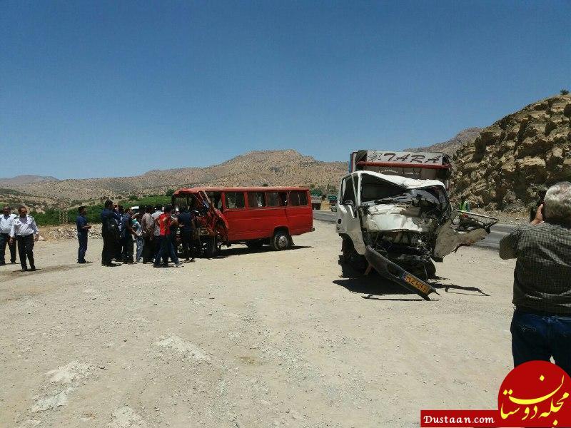 www.dustaan.com 8 کشته و مجروح در تصادف پلدختر  خرمآباد/ برخی آمارها کذب است