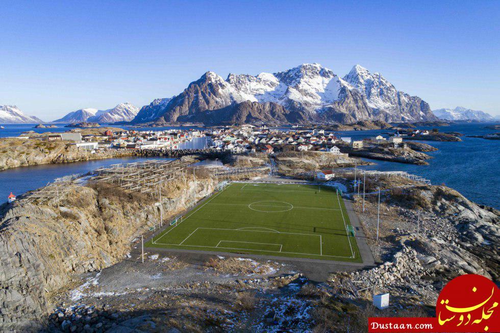 www.dustaan.com تصاویری ببینید از عجیب ترین استادیوم های جهان!