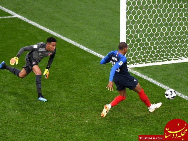 www.dustaan.com صعود فرانسه با حذف پرو از جام جهانی