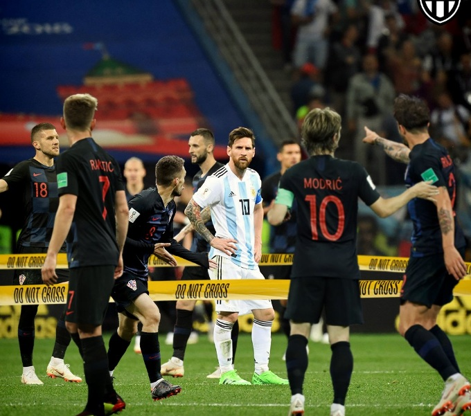 www.dustaan.com وضعیت مسی در بازی کرواسی سوژه شد +عکس