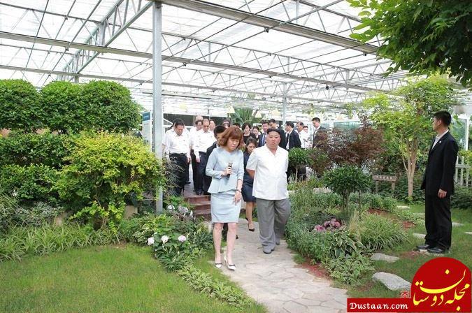 www.dustaan.com تصاویر جالب از گشت و گذار رهبر جوان کره شمالی در چین